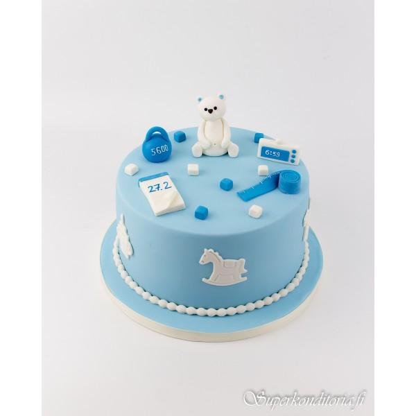 Kakku 1 vuotiaalle pojalle