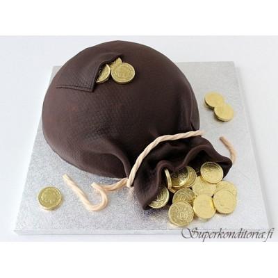 Rahasäkki kakku