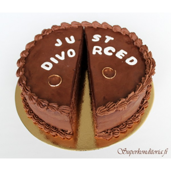 Avioero kakku