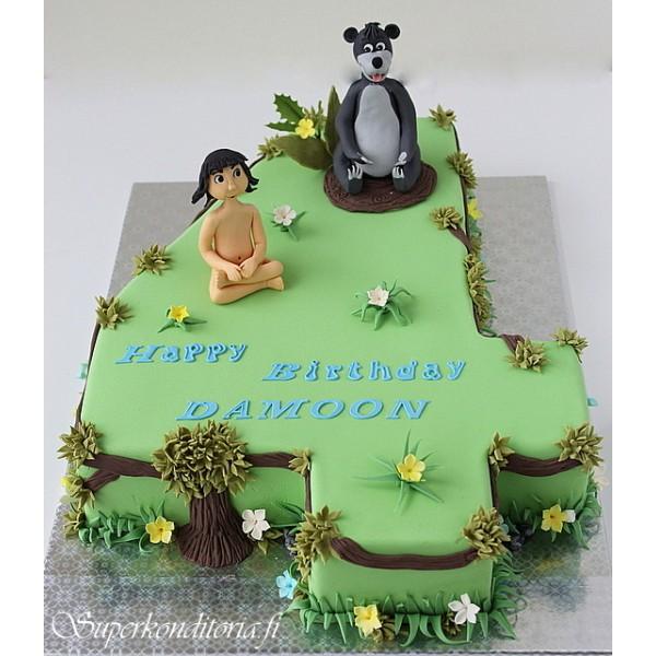 Jungle book kakku
