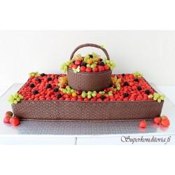 Täyte-,Marja ja hedelmäkakut