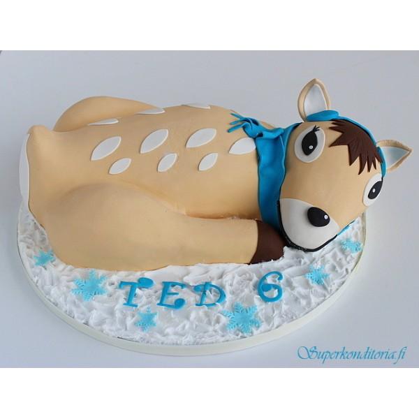 Bambi kakku