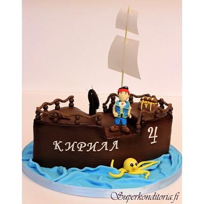 Merirosvolaiva kakku