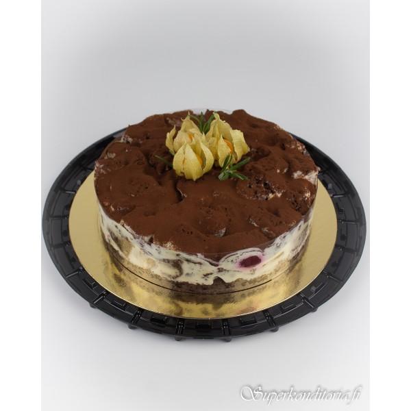 Pancho, suklaa-kirsikkakakku 10hlö 35€
