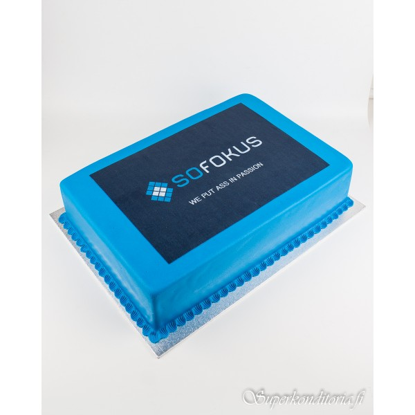 Sofokus logo-kakku