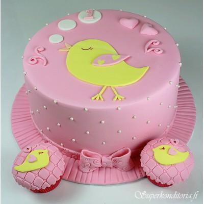 Kakku 1 vuotiaalle